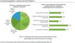 Die beiden Grafiken geben einen Überblick über die Zusammensetzung der Unternehmen, die in die Studie mit einbezogen wurden.