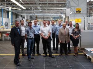 Kooperation: Rusol auf Besuch bei der Solar-Fabrik AG