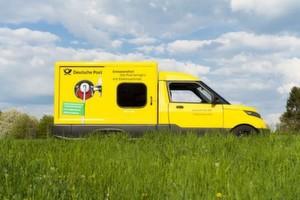 Post austragen wird emissionsfrei: Der StreetScooter kommt bei der Deutschen Post DHL zum Einsatz.
