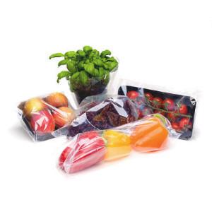 Transparente Lebensmittelfolie aus Bio-Flex