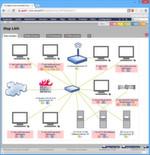 Abbildung 2: Wenn die Administratoren es wünschen, begrüßt PRTG sie nach dem Anmelden mit einer grafischen Übersicht über ihr Netzwerk; die Einstiegsseite kann frei definiert werden.