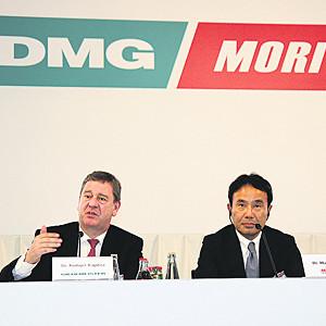 Dmg und mori seiki treten unter gemeinsamem namen auf for Dmg mori seiki seebach