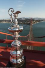 Darum geht es: Der America´s Cup auf der Golden Gate Bridge