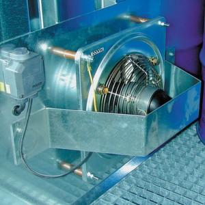 Bild 1: Einfache Lüftungsanlagen realisieren einen 0,4-fachen Luftwechsel.