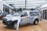Das Grundmodell des Pick-ups D-Max hatte Isuzu bereits im Sommer 2012 auf der AMI vorgestellt.