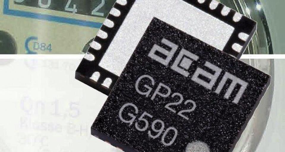 Die neuen SoC-basierten Ultraschall-Wasserzähler lassen sich leicht in bestehende Systeme nachrüsten und einfach installieren.