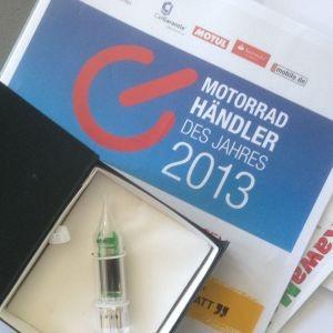 Motorradhändler des Jahres 2013: Die Jury kommt in Fahrt