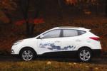 Den ix35 gibt es jetzt mit Brennstoffzellen-Antrieb.