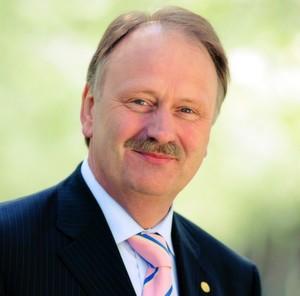 Ernst Raue, Geschäftsführer der Deutschen Messe AG
