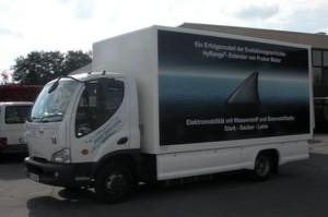 E-Lkw: Proton Motor präsentiert das weltweit erste elektrisch betriebene Nutzfahrzeug