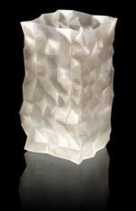 Erstellt mit 3D-Drucker Velleman K8200: Auch transparente Objekte aus PLA oder ABS kann der Velleman K8200 drucken