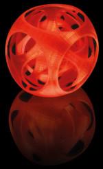 Erstellt mit 3D-Drucker Velleman K8200: Die Thermoplaste als Werkstoff für die 3D-Objekte sind bei reichelt in zahlreichen Farben erhältlich