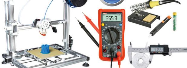 Velleman-Set: Exklusiv bei reichelt liegt für den Zusammenbau benötigtes Werkzeug im Wert von 39,90 Euro der Lieferung kostenlos bei
