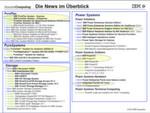 Abbildung 1: Alle 25 Herbst-Ankündigungen der IBM im Überblick; im Fokus Cloud- und Analytics-Technik für Mittelständler