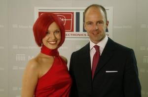 Die neue Miss IFA und Messechef Dr. Christian Göke präsentierten das Konzept für die IFA 2007.