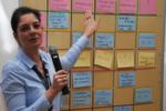 Themenvorschläge für das Car-Camp: ZDK-Referentin Claudia Weiler erläuterte das Grid.