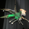Libelle Libby wird zur Leitfigur für hybriden Leichtbau