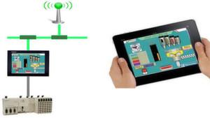 Vijeo Design'Air plus greift als Remotezugriff auf HMI-Panels von Schneider Electric zu.