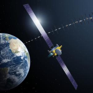 Kommunikationssatellit bekommt Elektroantrieb