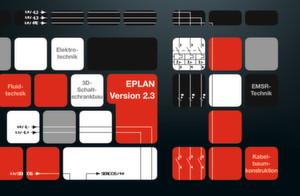 Die neue Eplan Plattform 2.3 ist da und steht zum Download unter www.eplan.de/support_eplan bereit.