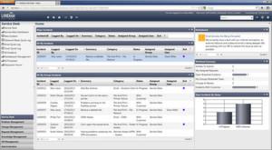 Das Web Desk hält eine Vielzahl von Informationen für die Helpdesk-Mitarbeiter bereit