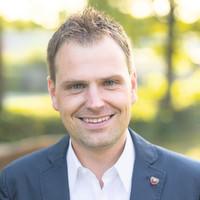 Dr. Christian von Dobschütz, wissenschaftlicher Mitarbeiter im Referat für Allgemeine Verwaltung, Projektleiter Netcity