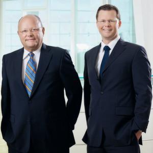 Der Vorstand der Tim AG (v.l.): Jörg Eilenstein, Gerd Henneveld (Vorsitzender) und Tim Henneveld.