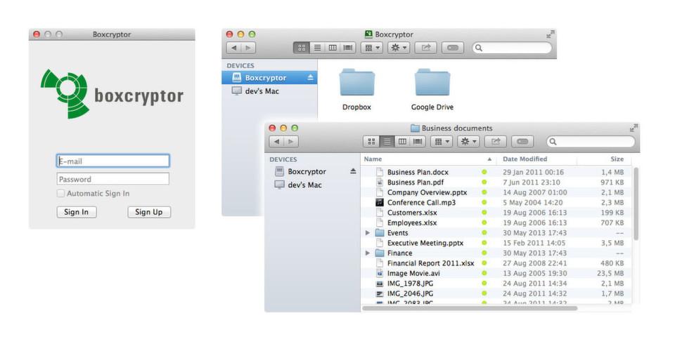 Mit der finalen Version können auch Apple-Nutzer Dateien für andere freigeben sowie Gruppen erstellen und verwalten.