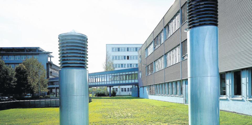Das Gebäude der DVZ GmbH in Schwerin