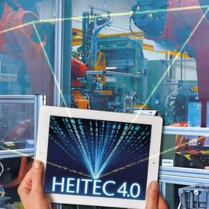 """""""Heitec 4.0"""" – Intelligente Vernetzung von Produktion und Informationstechnologie."""