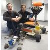 Weltraumroboter der Zukunft kämpfen um den Sieg