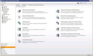 kompletter Screenshot : Quickstart mit Matrix42 Workspace Management