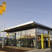 Die neue ADAC-Werkstatt befindet sich in Goslar in der Gerhard-Weule-Straße.