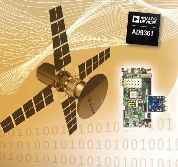 Breitband-Transceiver: Ein HF-zu-Basisband-Transceiver-IC bietet eine hohe Flexibilität und stellt genau die Leistungsfähigkeit bereit, um SDR-Architekturen für viele neue Anwendungen zu nutzen.