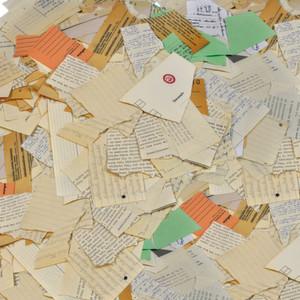 Das Erbe der Stasi: Kurz vor der Wende zerrissen Mitarbeiter des Staatssicherheitsdienstes 40 Millionen Seiten mit Aufzeichnungen. Jetzt rekunsturiert ein automatisierter ePuzzler des Fraunhofer IPKs die Akten.