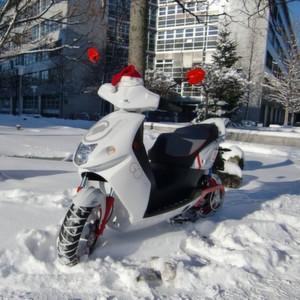 Winter-Check für Elektroroller – worauf der Fahrer achten muss