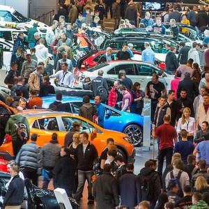 Die Besucherzahl der Essen Motor Show stieg in diesem Jahr um sechs Prozent.