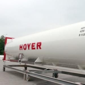 Mit den neuen 40-Fuß-Containern rüstet sich Hoyer für künftige Marktentwicklungen.