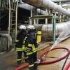 Explosion und Brand in Shell-Raffinerie in Köln-Godorf