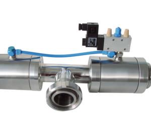 Pneumatische Quetschventile werden im Anlagenbau sowohl bei Schüttgütern als auch für flüssige Medien eingesetzt, weil sie sich einfacher integrieren lassen als Kugel- oder Scheibenventile.