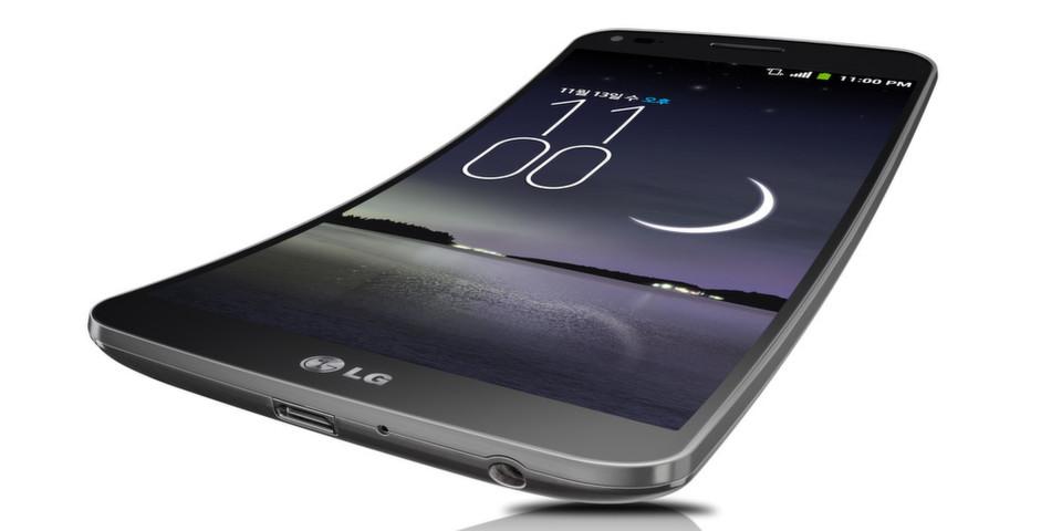 Verbiegen erwünscht: Im Gegensatz zum Samsung Galaxy Round ist das LG G Flex vertikal gebogen. Auch Fernseher haben schon den Bogen raus. Mal sehen was sich 2014 noch so alles verbiegen lässt...