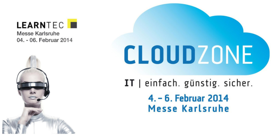 Die Cloudzone findet Anfang Februar parallel zur Learntec in Karlsruhe statt.