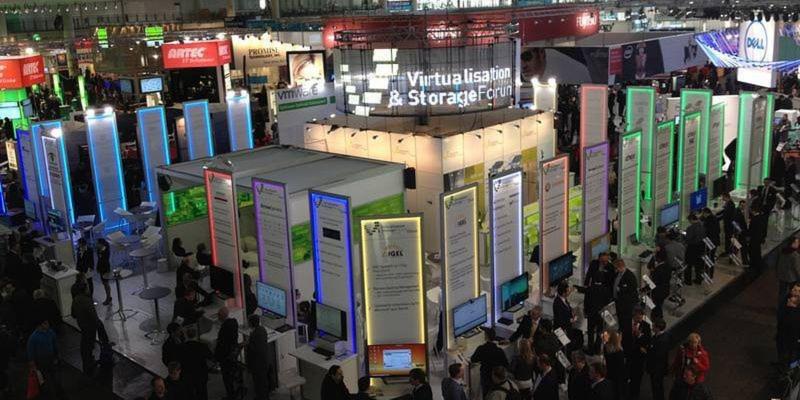 Das Virtualisation & Storage Forum von Arrow findet in diesem Jahr auf einer zehn Prozent größeren Fläche statt als 2013.
