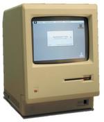 Der Urahn: Der 128K war der erste einer langen Reihe von Macintosh All-in-One-PCs