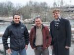 v.l. Tobias Brucker, Festo Vertrieb Deutschland, Thomas Held, Sixt, Heiß & Partner und Jürgen Zeiträg, Festo Projektierung Prozessautomatisierung, haben für eine optimierte Wasseraufbereitungsanlage eng zusammengearbeitet.