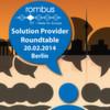 Rombus zeigt Lösungen im Projektgeschäft auf