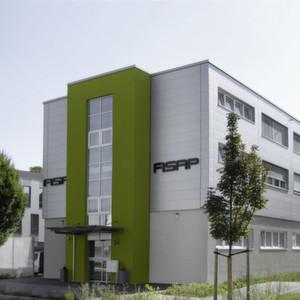 In Neckarsulm ist der neue Name schon am Firmensitz sichtbar: Aus SIMA wurde ASAP.