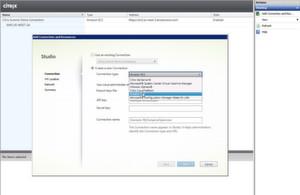 Der Screenshot zeigt, wie einfach das Provisioning in hybriden Umgebungen funktionieren kann.