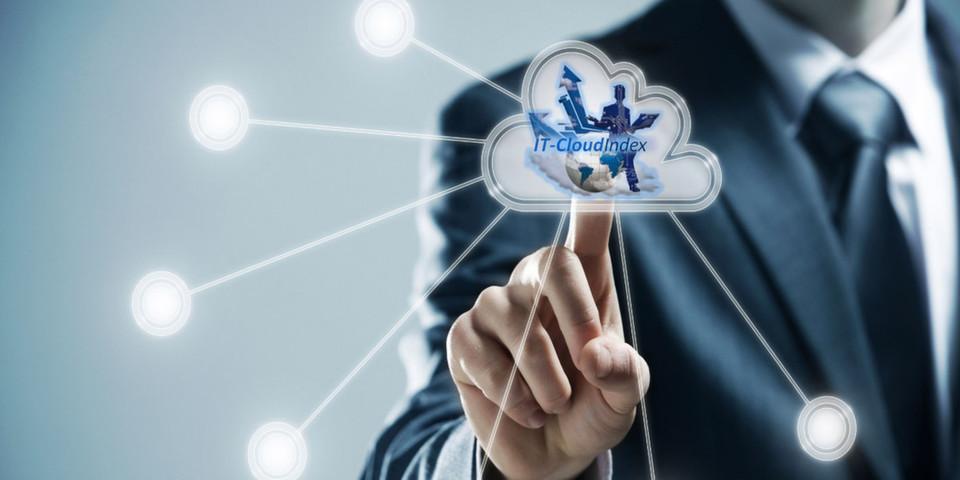 "Gegen Registrierung bietet Techconsult einen ""Cloud User Check"" an."