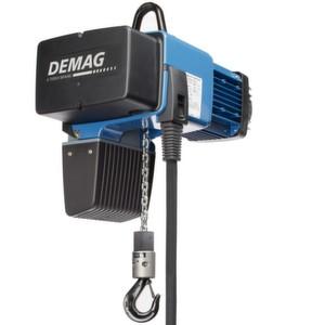Der Demag-Kettenzug DC-Com: mit höherer FEM-Einstufung und längerer Einschaltdauer.